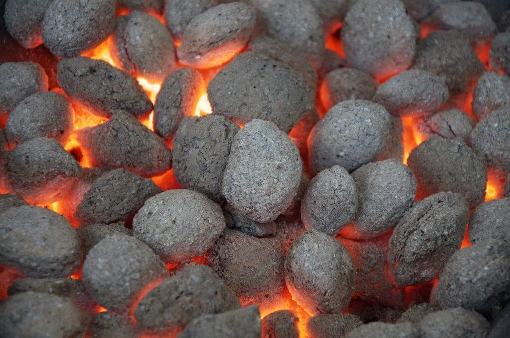 briquete de carbón